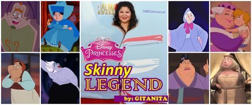 princesas de disney fondo de pantalla titled Skinny Legend countdown on encuestas