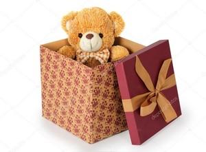 teddy oso, oso de present