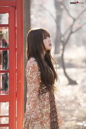 'Sunrise' MV behind - Yerin