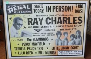 Vintage সঙ্গীতানুষ্ঠান Tour Poster