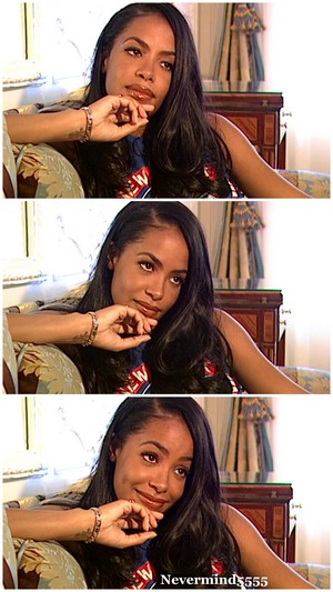 Aaliyah in Paris, 2001 ♥