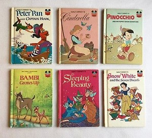 An Assortment Of. Vintage ডিজনি Storybooks