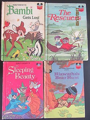 An Assortment Of Vintage Disney Storybooks