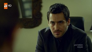 Berk Hakman in the role of Ertan Demir in the Kacak TV series