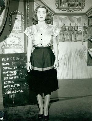 Bette Davis screen test