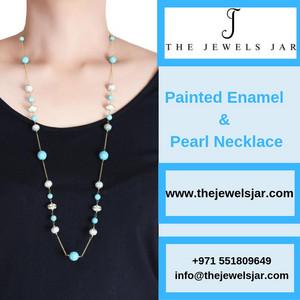 Get Latest Painted Enamel Jewelry Trends in Online Dubai