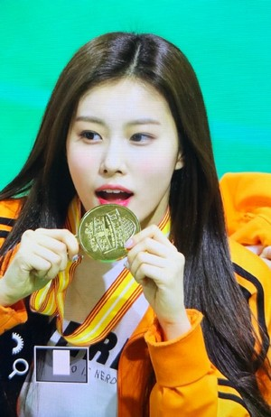 Hyewon Idol 星, つ星 Athletics Championships (ISAC)