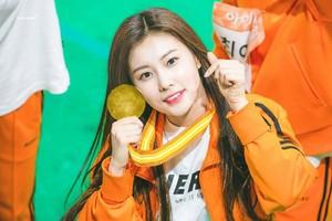 Hyewon Idol звезда Athletics Championships (ISAC)