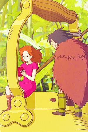 Karigurashi no Arrietty Phone Background