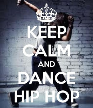 Keep Calm And Dance Hip