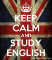 Keep Calm And Study English