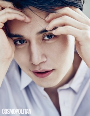 Lee Dong Wook is Mr. Valentine on Cosmopolitan