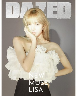 Lisa for Dazed Korea Magazine Cover February 2019 Issue