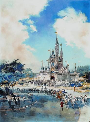 Disney achtergrond entitled Magic Kingdom