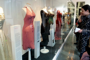 Marilyn Monroe Fashion Exhibit