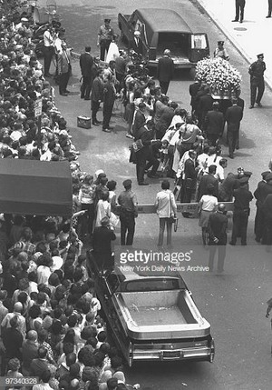 Marilyn's Funeral Back In 1962