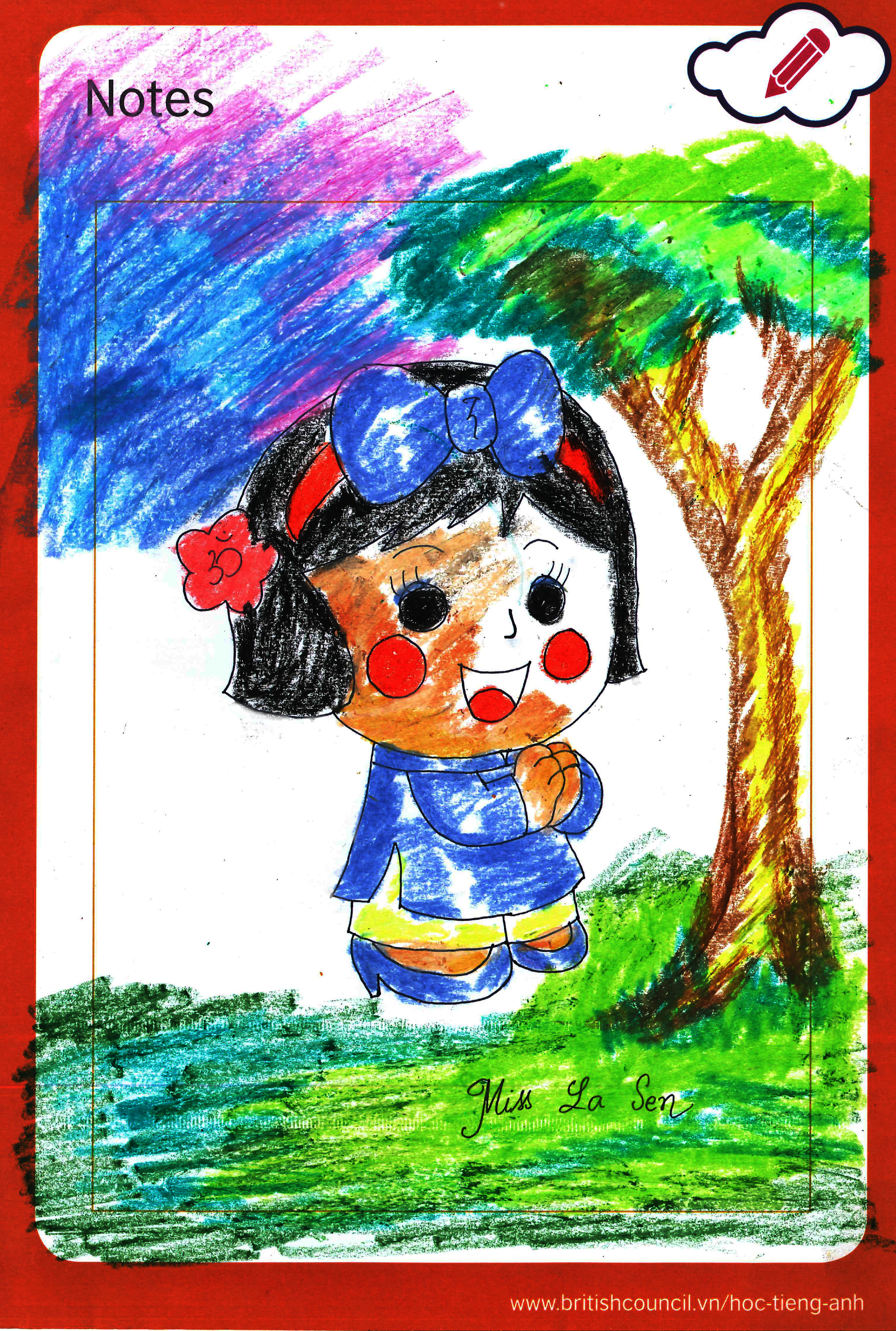 Miss La Sen lucky doll images Miss La Sen oil pastel HD wallpaper and background photos