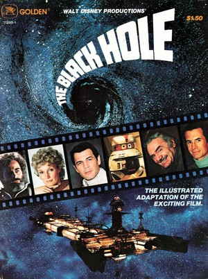 Movie Poster 1979 disney Film The Black Hole
