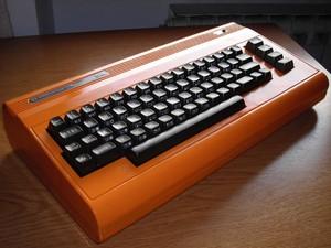 orange Double SID front C64 mod