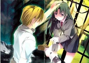 Satoshi and Shion