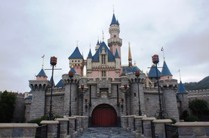 Sleeping Beauty गढ़, महल (Hong Kong Disneyland)