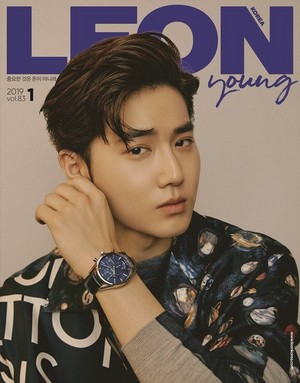 Suho for LEON KOREA January 2019