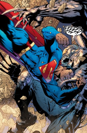 superman vs Equus