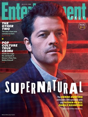 Supernatural - 300th Episode Special - EW Covers