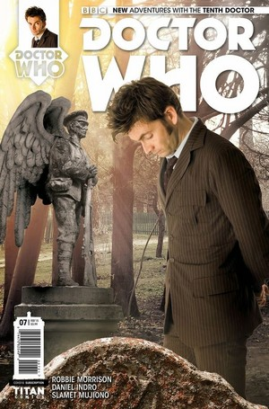 Tenth Doctor/Doctor Who Comic cover