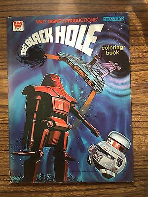 The Black Hole Vintage Coloring Book
