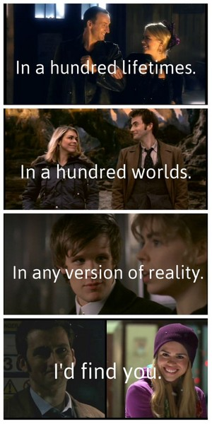 The Doctor and Rose 💖