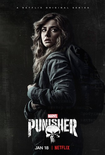 The Punisher - Netflix karatasi la kupamba ukuta called The Punisher - Season 2 - Promo Poster