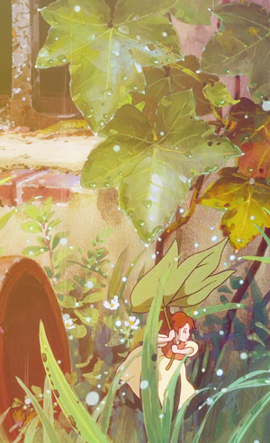 The Secret World of Arrietty Phone Background