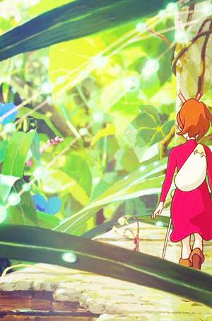 The Secret World of Arrietty Phone Background