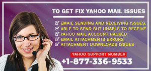 To Get Fix Yahoo Mail Issues | Contact Number 1-877-336-9533