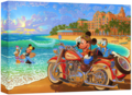Walt Disney Art - Mickey Mouse & Friends: Where the Road Meets the Sea - walt-disney-characters photo