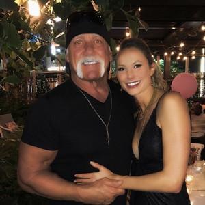 With Hulk Hogan