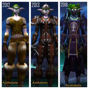 WoW Character Comparisons: Azshaloris
