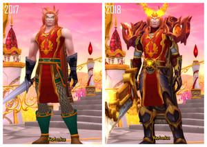 WoW Character Comparisons: Kohaku