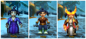 WoW Character Comparisons: Trùdy