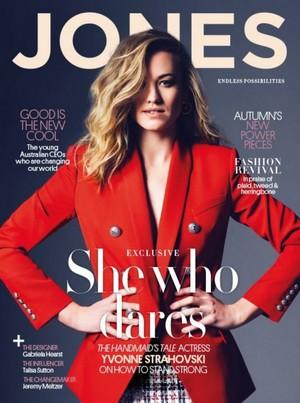 Yvonne Strahovski ~ Jones Magazine
