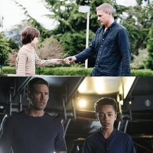 father and son -killjoys and prison break