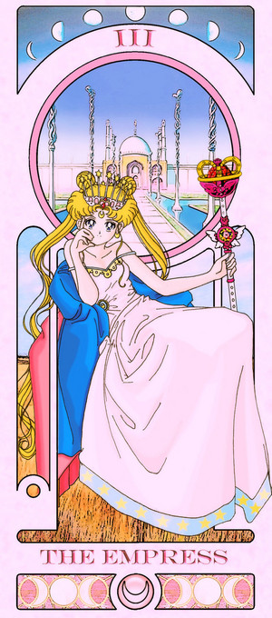 sailor moon Tarot Card