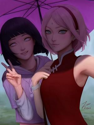 *Hinata / Sakura*