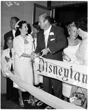 1956 Grand Opening Of Disneyland Hotel