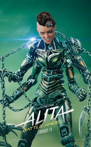 Alita: Battle angel Character Posters