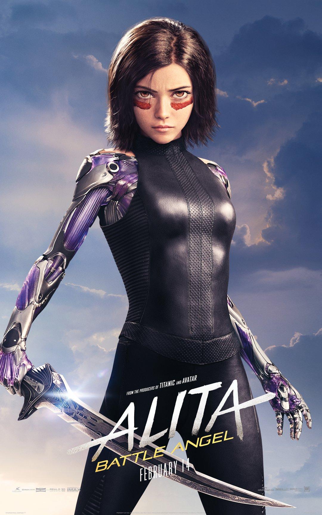 Alita: Battle Angel Character Posters