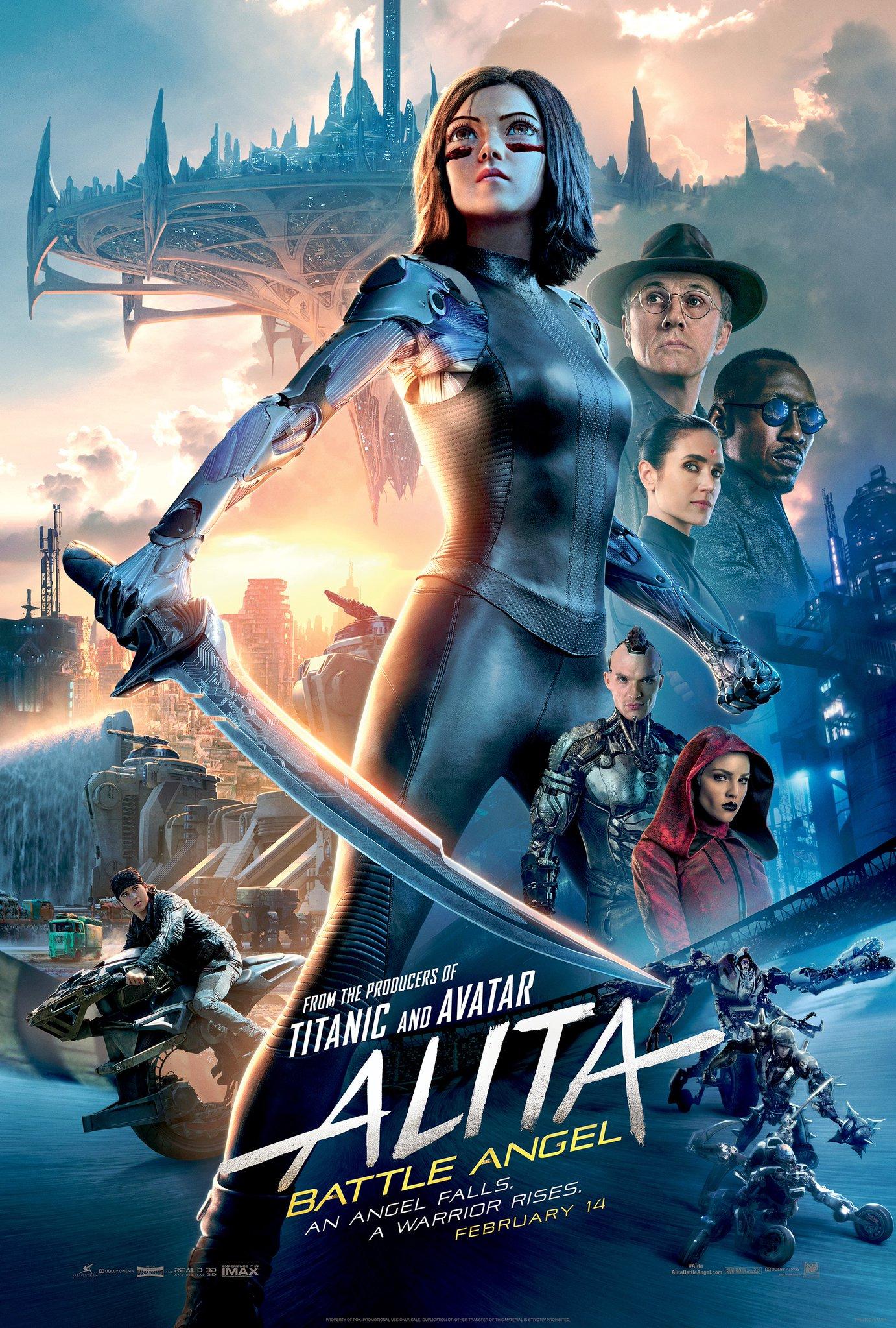 Alita: Battle malaikat Posters