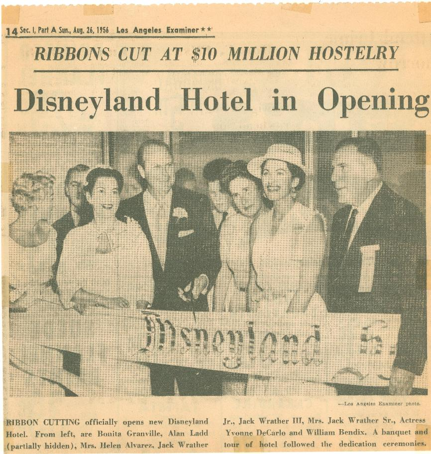 Article Pertaining To 1956 Grand Opening