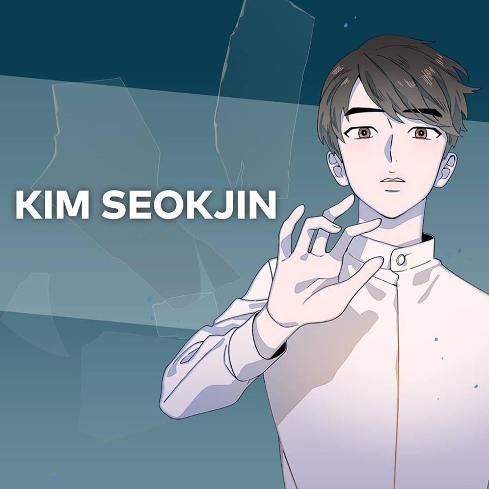 BTS Webtoon Series'SAVE ME' Photos{JIN}